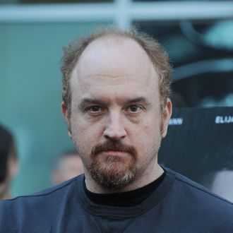 LOS ANGELES, CA - JUNE 20: Louis C.K. arrives at the premiere party for FX's