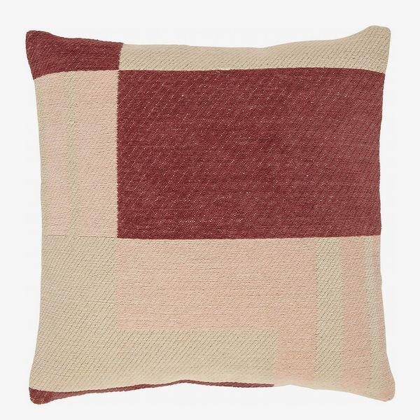 Rivet Modern Geometric Throw Pillow