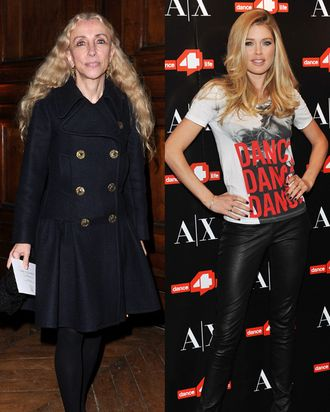 Franca Sozzani and Doutzen Kroes.