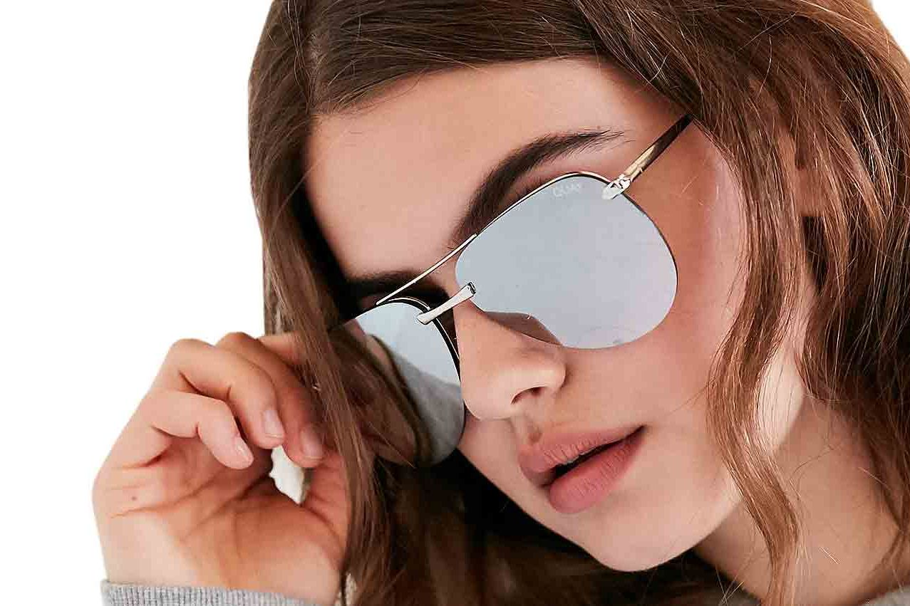 Quay the Playa Aviator Sunglasses