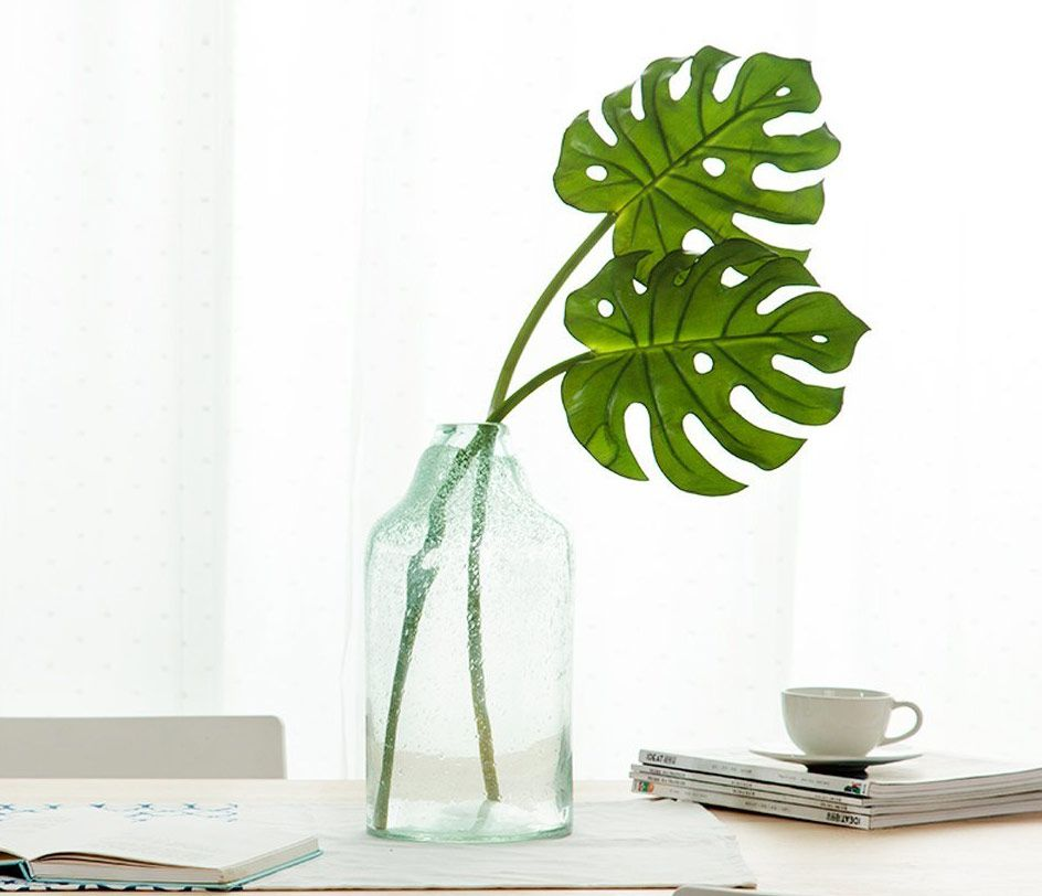 Artificial Monstera Tropical Leaf