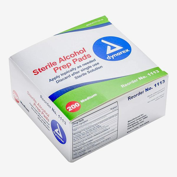Dynarex Alcohol Prep Pad Sterile, Medium, 200-Count