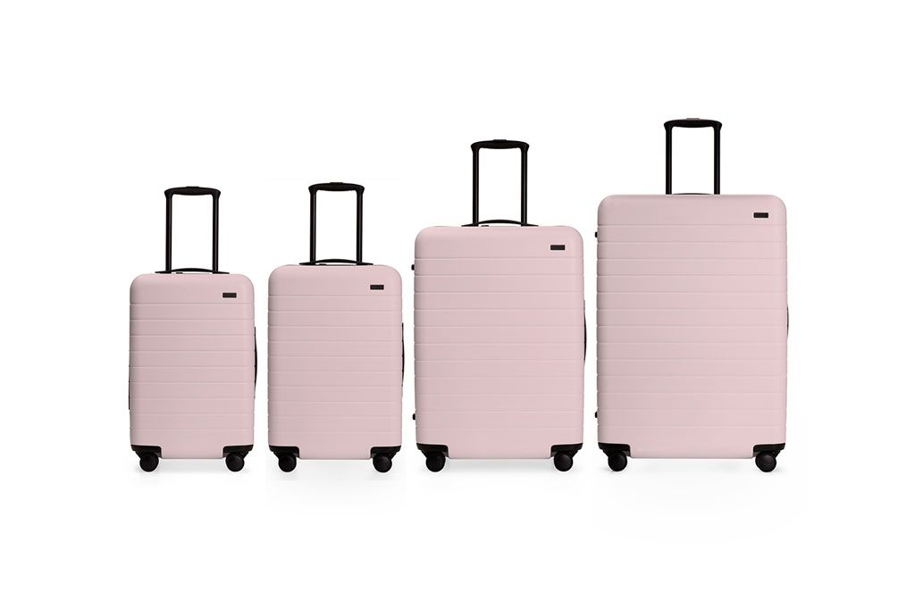 The Best Luggage Brand Now Has Suitcases in Millennial Pink