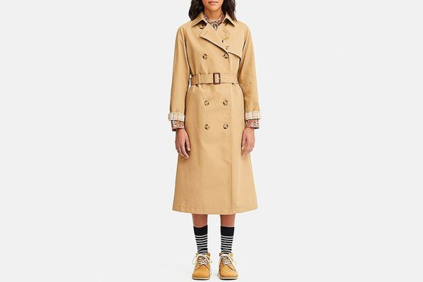 Women Reversible Trench Coat