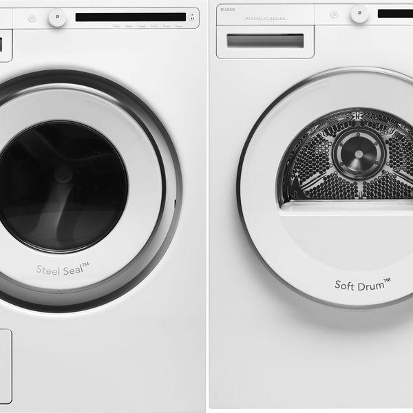 Asko 24-Inch Front-Load Washer-Dryer Set
