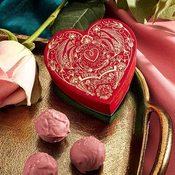 Fortnum and Mason Valentines Truffles