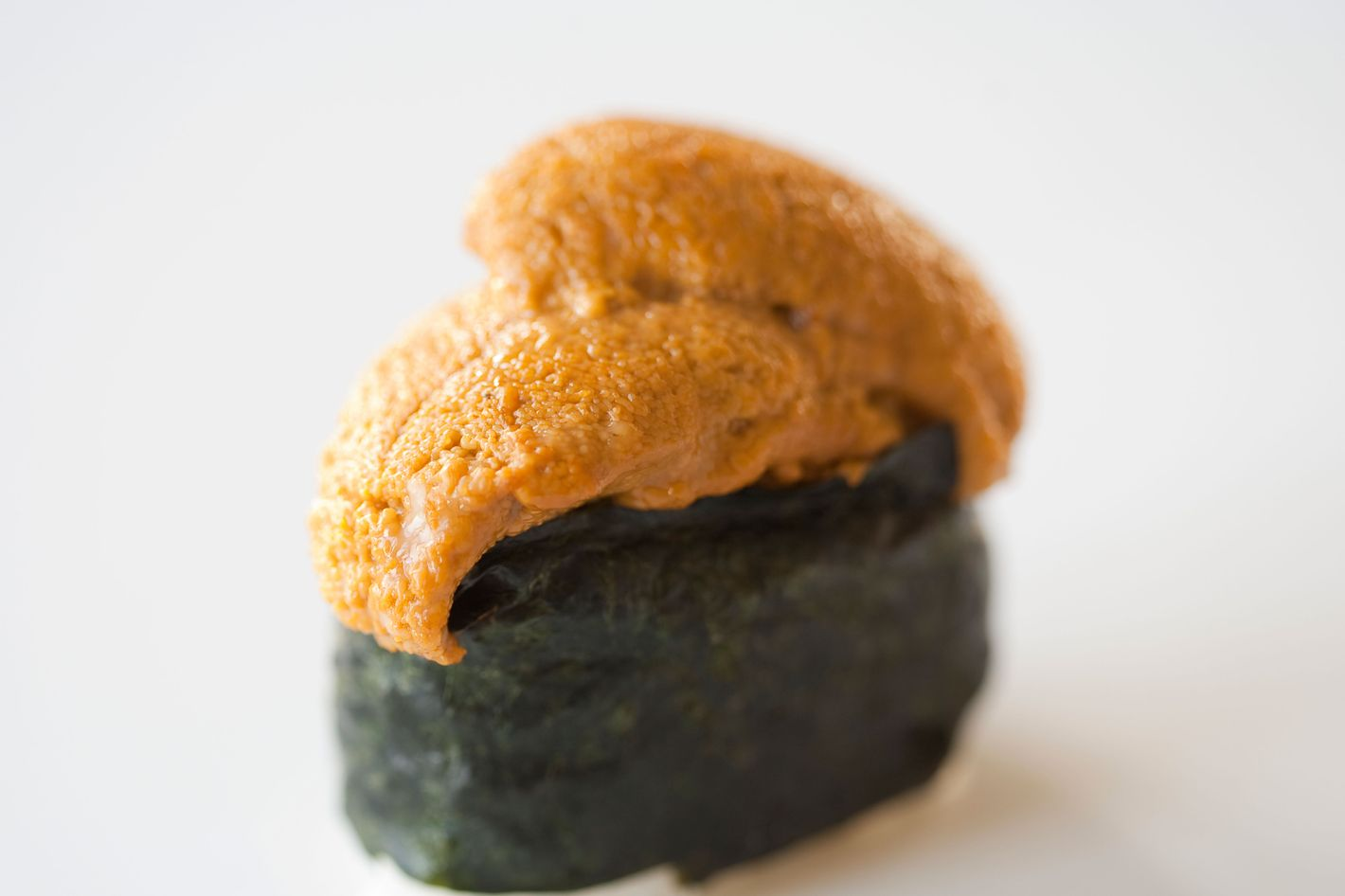 At Eataly, you can get a sea urchin crostino.