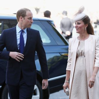 Prince William, Duke of Cambridge and Catherine, Duchess of Cambridge arrive for a service of celebration to mark the 60th anniversary of the Coronation Queen Elizabeth II at Westminster Abbey on June 4, 2013 in London, England. The Queen's Coronation took place on June 2, 1953 after a period of mourning for her father King George VI, following her ascension to the throne on February 6, 1952. The event 60 years ago was the first time a coronation was televised for the public.