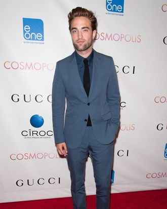 Robert Pattinson attends the