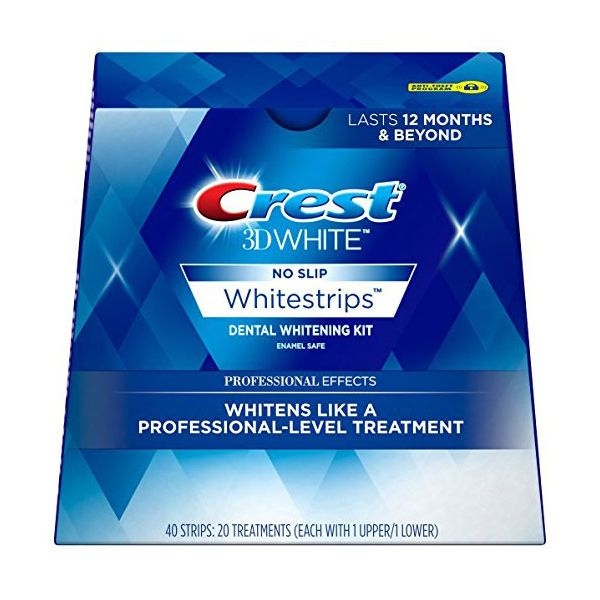 Crest 3D White Professional Effects Whitestrips Kit de bandes de blanchiment des dents dentaires
