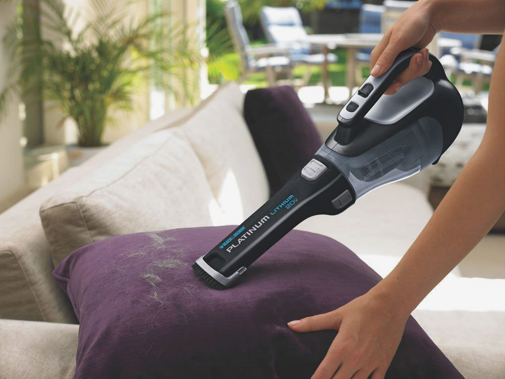 Black & Decker BDH2000L 20-Volt Max Lithium Ion Battery Cordless Hand Vacuum