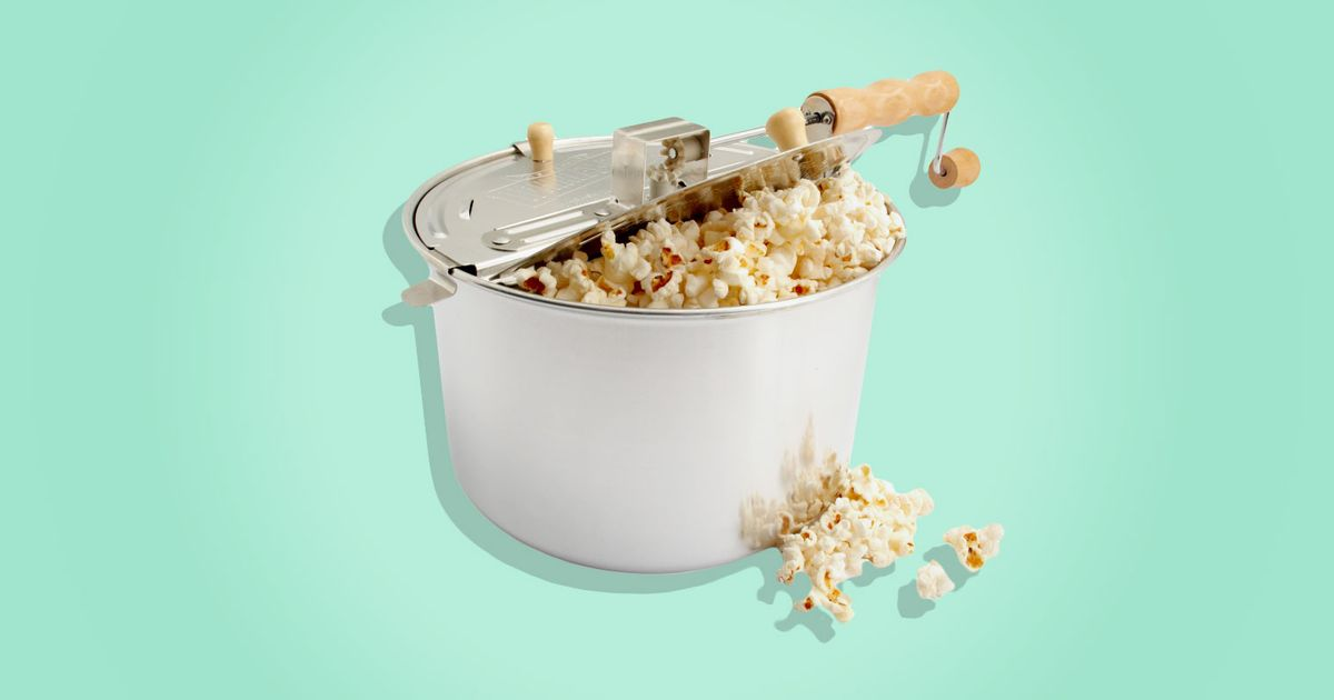 The Best Stove Top Popcorn Popper Whirley Pop Review 2017