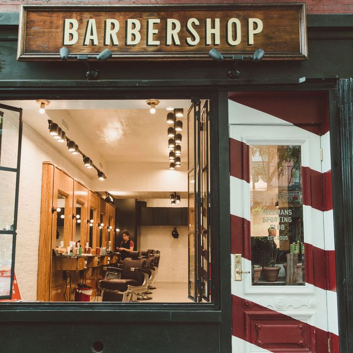 Freemans Sporting Club Reopens Barbershop In New York
