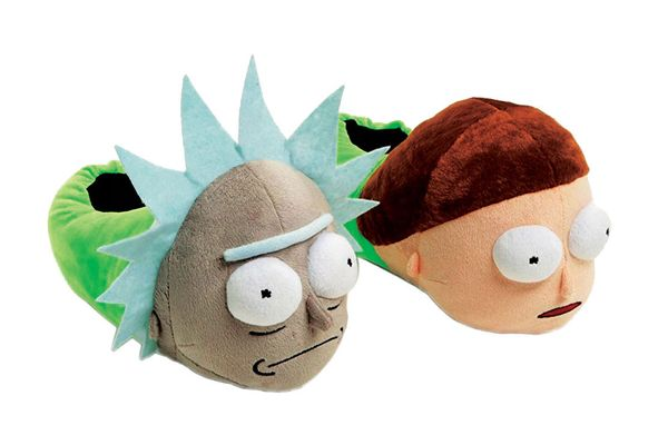 Rick and Morty Plush Slippers