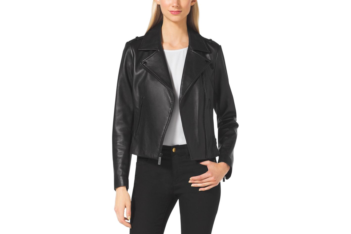 c69cc084ec0 How 5 Cool Women Wear Their Leather Jackets