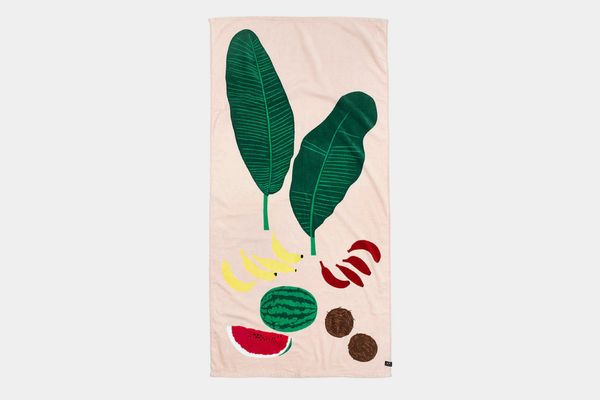 Madewell in Residence x Plant Planet Beach Towel