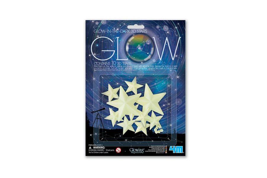 4M 3-D Glow Stars