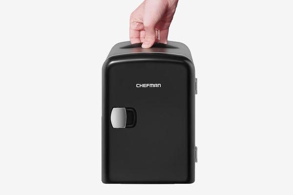 Chefman Portable Compact Personal Fridge, 4 Liter Capacity