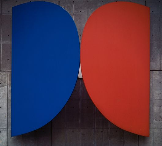 Blue-Red by Elsworth Kelly
