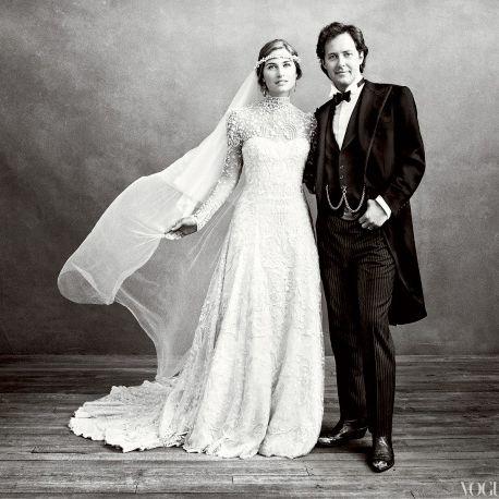 Lauren Bush and David Lauren.