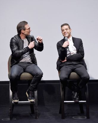 SAG Foundation Conversations With Rami Malek, Christian Slater Of