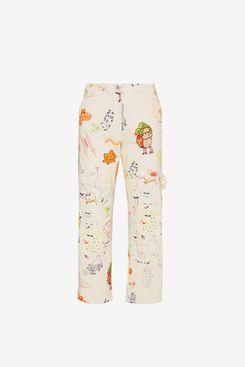 Collina Strada Chason straight-leg trousers