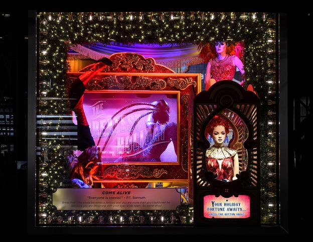 """Photo 1 from Bloomingdale's: """"Greatest Holiday Windows"""""""