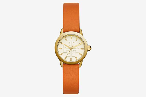 Tory Burch Gigi Leather Strap Watch, 28mm