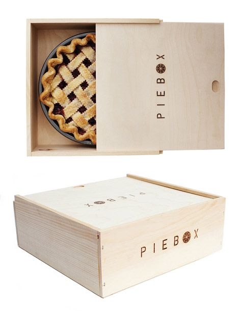 "It is quite literally a box in which to carry pie, but the aptly named pie box's minimalist, attractive design makes it something worth coveting. Crafted from reusable raw pine and handmade in Chicago, this is a go-to option for avid bakers. <a href=""http://piebox.myshopify.com/products/piebox"">Pie Box</a>, $35.00"