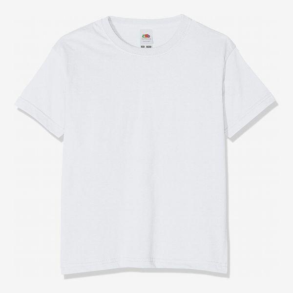 Fruit of the Loom Kids/Childrens Plain T-Shirt