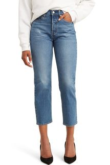 Levi's Wedgie Straight Leg Crop Jeans