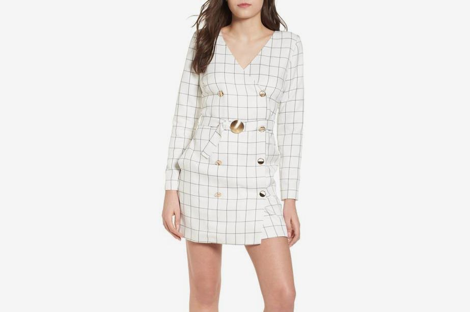 Chriselle x J.O.A. Blazer Minidress