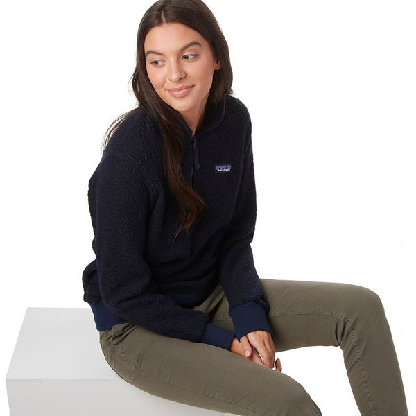 Patagonia Woolyester Fleece Pullover, Navy