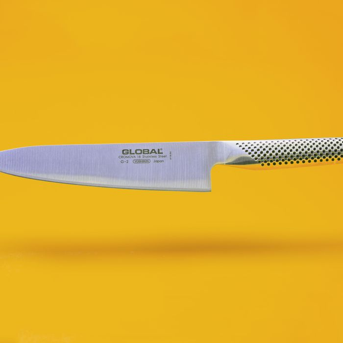 The Global G-2 chef's knife, with instructions on how to take care of it — The Strategist's guide to knives.