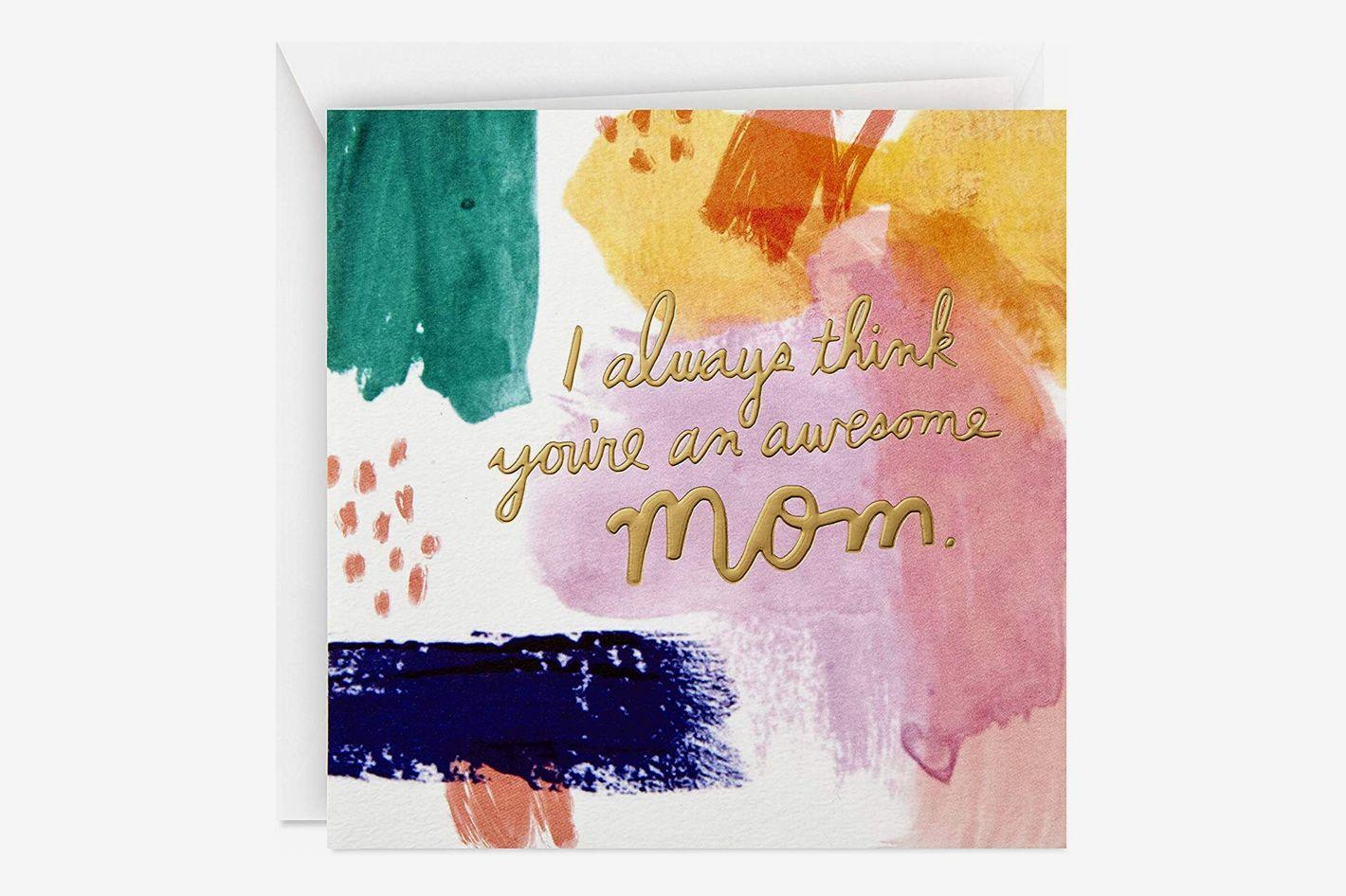 Hallmark Studio Ink Mother's Day Card