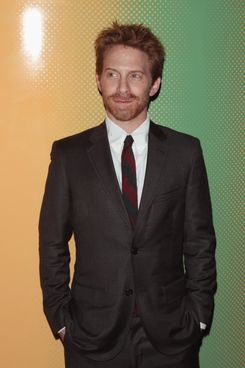 "NEW YORK, NY - SEPTEMBER 03:  Actor Seth Green attends the City Of Peace Films With The Cinema Society Premiere Of ""The Identical"" at SVA Theater on September 3, 2014 in New York City.  (Photo by Jim Spellman/WireImage)"
