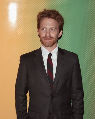 NEW YORK, NY - SEPTEMBER 03: Actor Seth Green attends the City Of Peace Films With The Cinema Society Premiere Of
