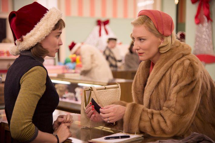 A scene from <em>Carol</em>.
