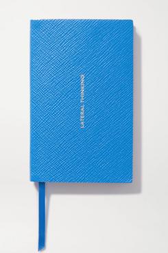 Smythson Panama Lateral Thinking Leather Notebook