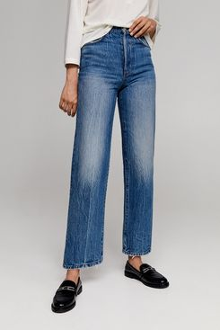 Leandra x Mango Faded Relaxed Jeans