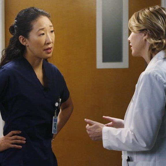 The Year's Best Fight: Meredith and Cristina on Grey's Anatomy