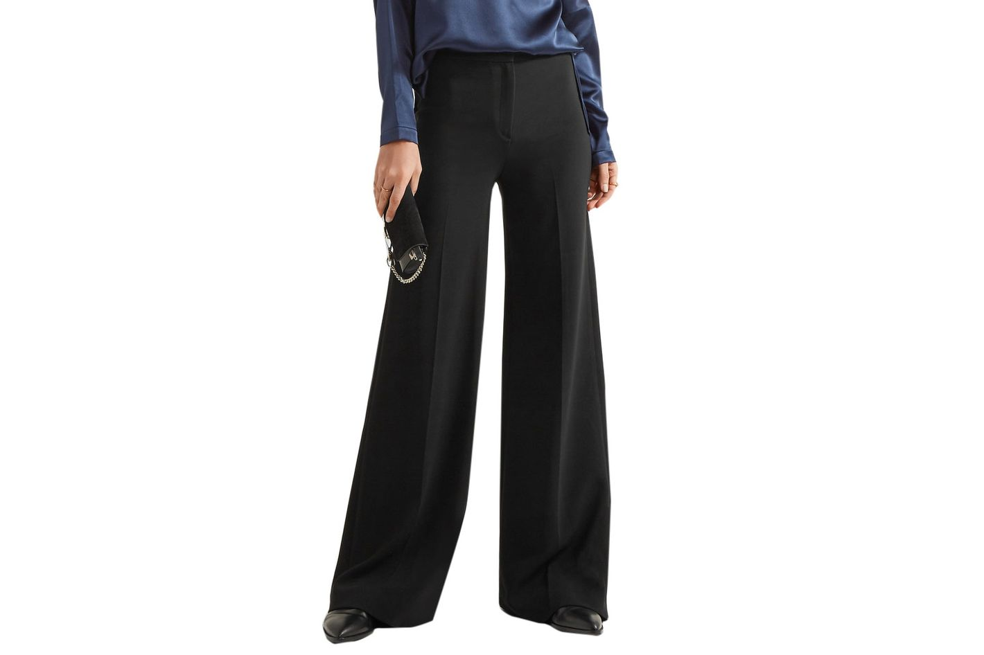 Theory Terena Wide-Leg Pants