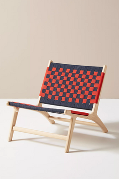 Clare V. for Anthropologie Carreaux Webbed Chair