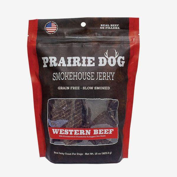Prairie Dog Pet Products Western Beef Smokehouse Jerky Treats