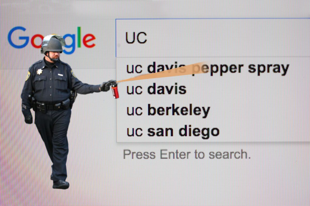 UC Davis Tries to Scrub Pepper-Spray Incident From Web, Which Means ...