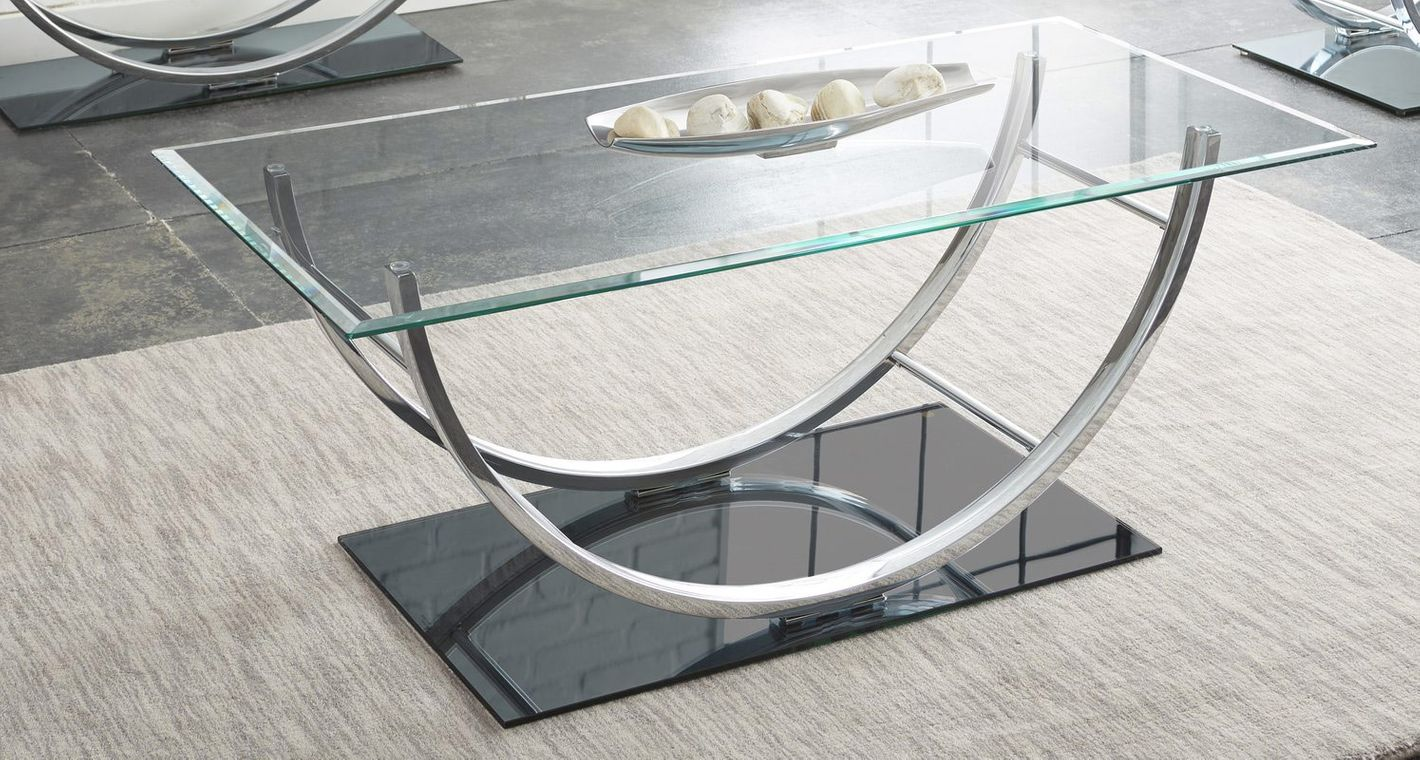 Glass coffee table buethe