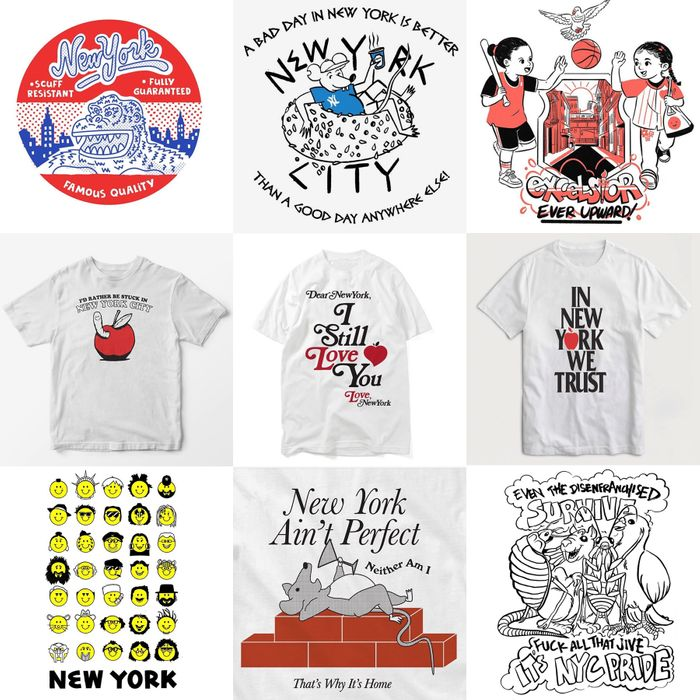 The Best New York T Shirt Contest Brings Out Local Pride