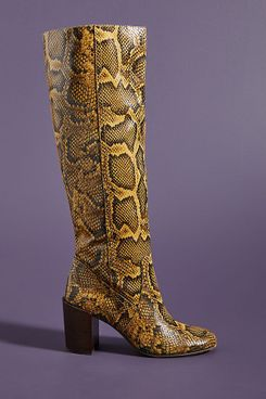 Dolce Vita Cormac Snake Knee-High Boots