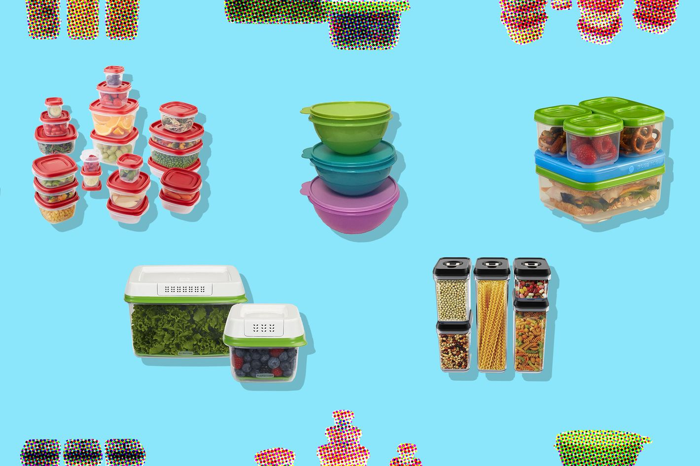 The Best Food-Storage Containers on Amazon, Tupperware