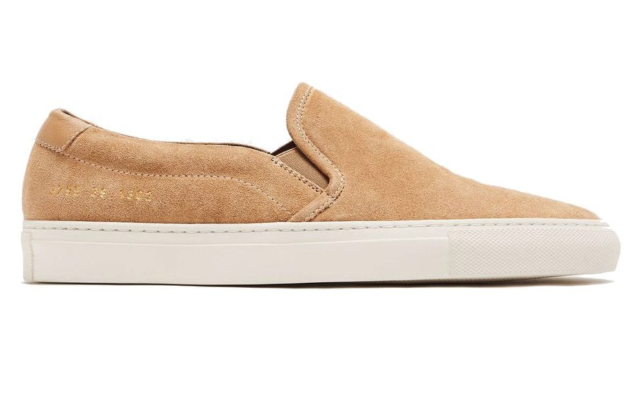 Woman by Common Projects Retro Slip-On in Suede